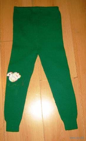 Теплые штанишки 2-3 года