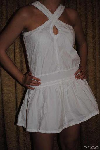 """Платье-сарафан- """"ДИЗАЙНЕРСКИЙ""""- известной фирмы-Benetton-на жаркое лето или пляж для стройной девушки, размер 40-42!"""