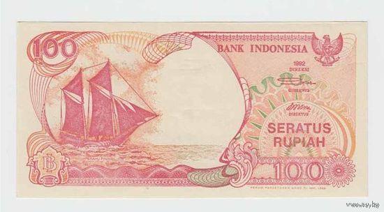 100 Рупей 1992 (Индонезия) ПРЕСС