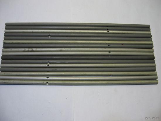 Стойки аллюминиевые длиной 388 мм,диаметром 10 мм.- цена снижена