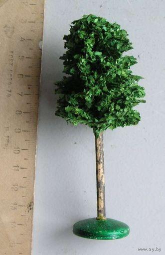 Дерево для ж-д макета производство ГДР вид 6