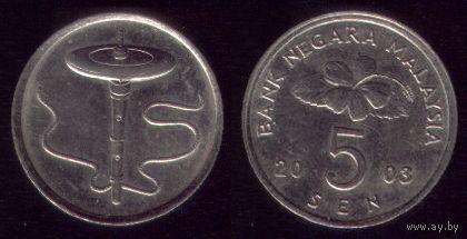 5 сен 2003 год Малайзия