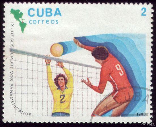 1 марка 1983 год Куба Панамериканские игры