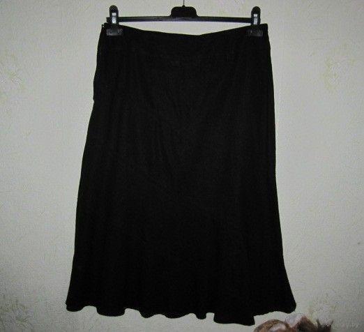 Льняная юбка New Look, р.44. Новая