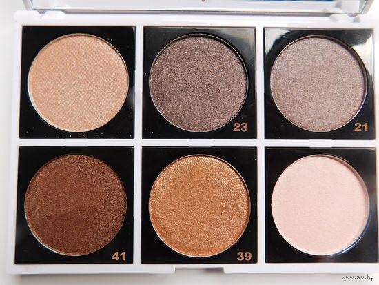 ТЕНИ для век Fashionista Eyeshadow 7 оттенков