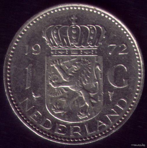 1 Гульден 1972 год Нидерланды
