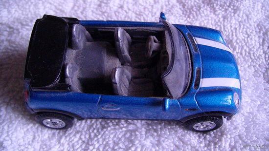 Модель. BMW VINI кабриолет, синий перламутр. расспродажа коллекции