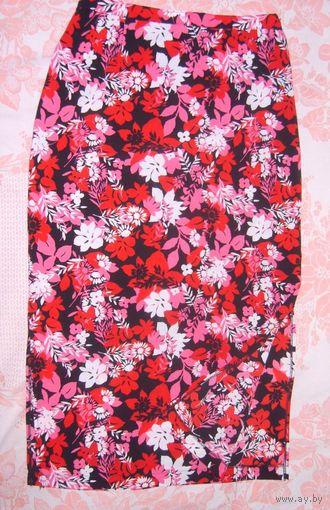 Яркая юбка на лето Briggs р.46-48