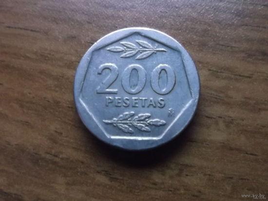 Испания 200 песет 1988