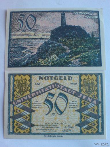 Германия 50 пфениг нотхельд. 1921г.  распродажа