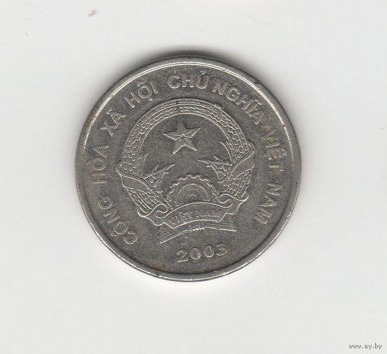 500 донгов Вьетнам 2003 Лот 3967