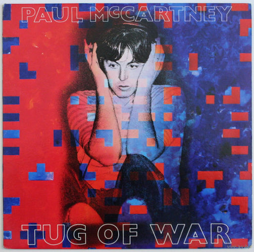 Paul McCartney - Tug Of War - LP - 1982