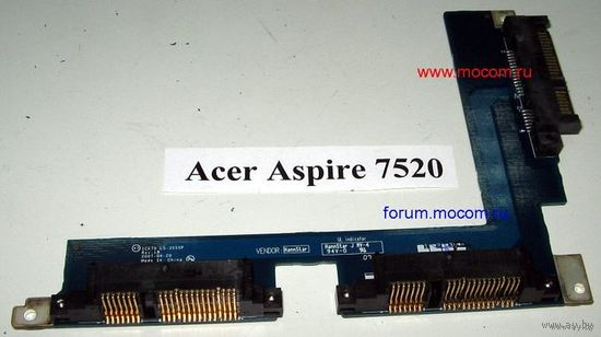 Acer Aspire 7520    Hard Drive Connector ICK70 LS-3555P