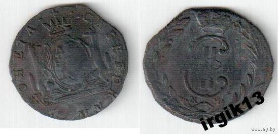 Денга Сибирская 1768 года КМ