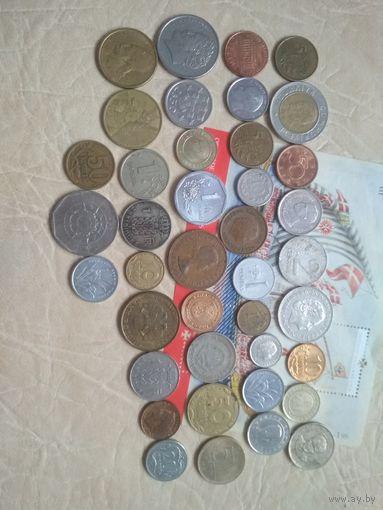 Сборный набор из 40 шт. (все разные года) +марка Португалии СБ3