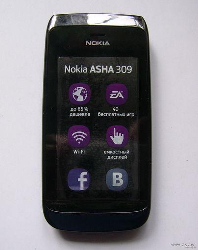 Nokia ASHA 309 (идеальное состояние).