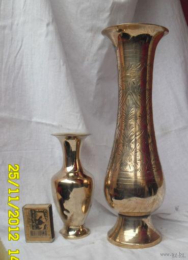 Большая бронзовая ваза No3. МАЛЕНЬКАЯ-ПРОДАНА.Середин а прошлого века.
