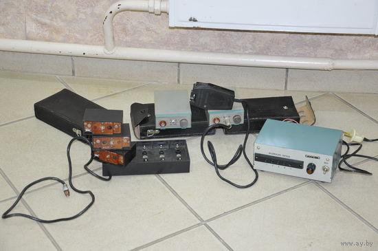 Полный комплект связи лётных техников ВВС  СССР с КП и другими службами ОтБАО. Полнейший оригинал.