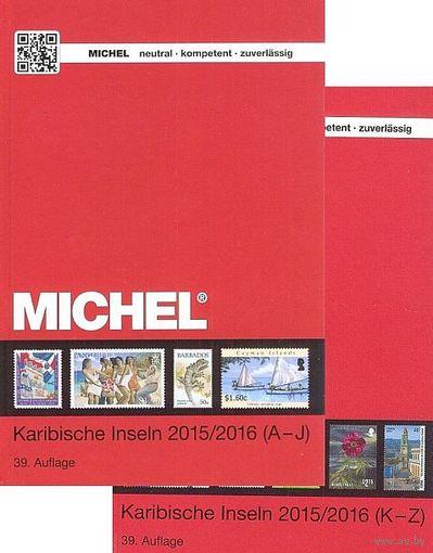 Michel 2015/16 - Марки Карибских Островов - на CD