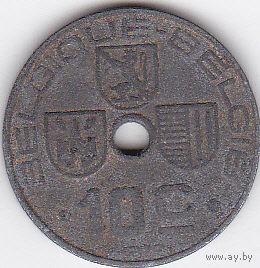 10 сантимов 1943 Бельгия