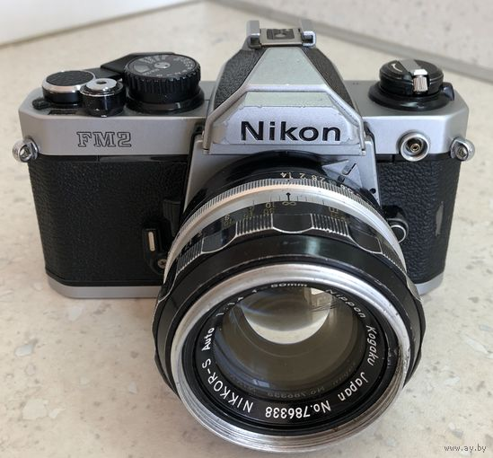 Nikon FM2n / FM2 n + Nikkor-S 50mm 1:1.4 Ai-d