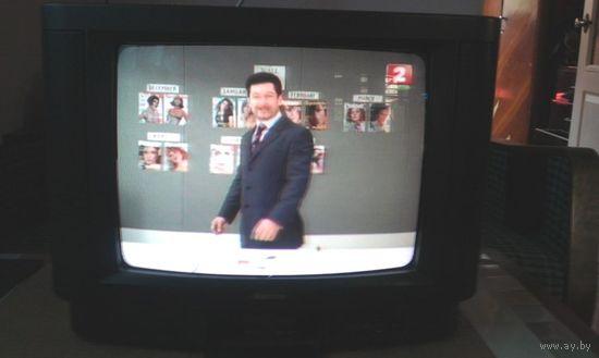 "Телевизор SAMSUNG 14"" (37см)  б/у с пультом / made in Korea"