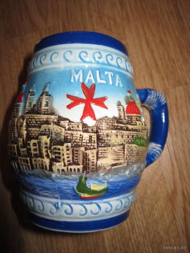 Кружка пивная . Мальта