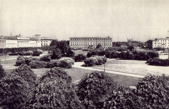 Ленинград Марсово поле 1968 год