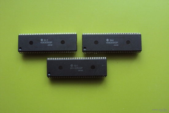М/сх HD6305X2P Hitachi Vintage IC 64-Pin CPU