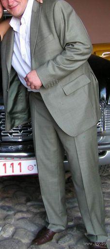 ЭКСКЛЮЗИВ, итальянская шерсть. На широооокие плечи 62-го размера и атлетическую фигуру! + Подарок!