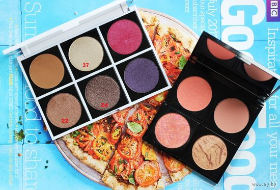 ТЕНИ для век Fashionista Eyeshadow 6 оттенков