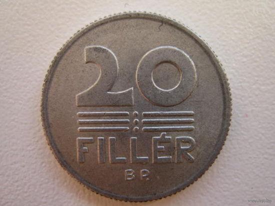 20 филлеров 1980,1982,1989 Венгрия   KM#573