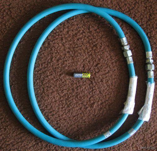 Шланг для воды, надёжный, гайка-штуцер, 1,2 метра (подводка) 1 штука