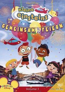 """Обучающий мультсериал на НЕМЕЦКОМ языке """"Disneys kleine Einsteins"""""""