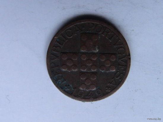 Португалия ХХ центаво 1949г.  распродажа