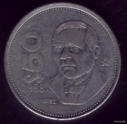 50 Песо 1988 год Мексика