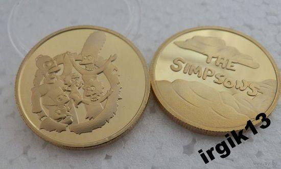 """Сувенирный жетон """"Симсоны""""(The Simpsons)"""