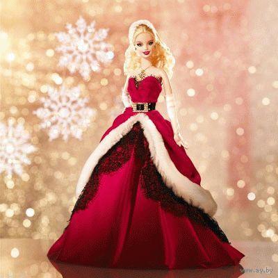 Кукла Барби/Barbie Holiday 2007 - коллекционная фирмы Mattel-(NRFB)!