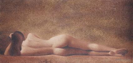 Картина маслом - Обнаженная 55х115, автор - А. Барташевич