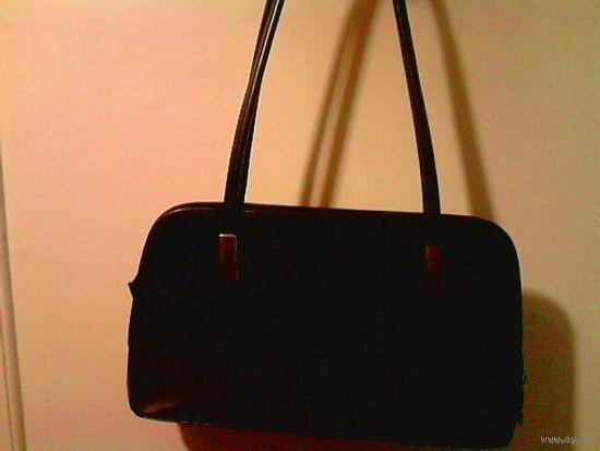 Деловая чёрная сумочка, и/к, Китай