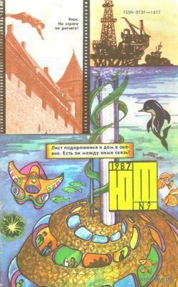 "Журнал ""Юный техник"", 1987, #9"