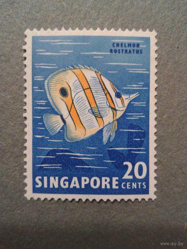 Сингапур. Рыба. 1962г. чистая