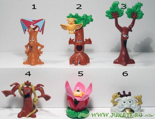 Деревья - серия (киндер)
