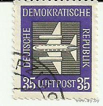 Самолет. Транспорт. Германия (ГДР)
