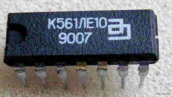Микросхема К561ЛЕ10