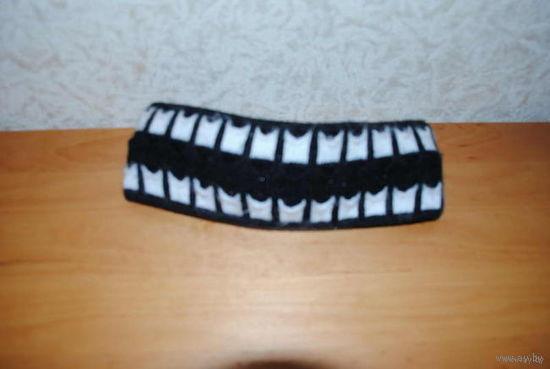 Женская зимняя повязка, идеальный головной убор, когда ещё не совсем холодно и не хочется надевать шапку!