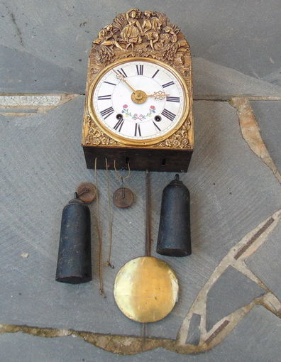 Часы  19 века.