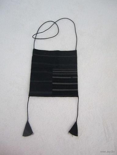 Винтажная сумочка через плечо, из материи, handmade