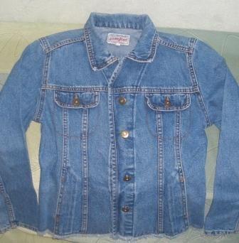 Джинсовая куртка женская р.38