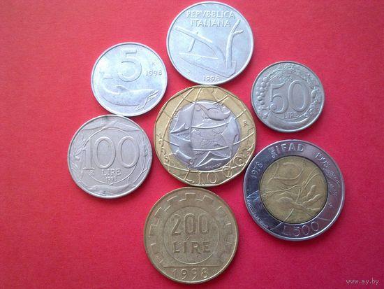Обменяю свои лоты на монеты ИТАЛИИ с 1800 по 2001 (список внутри)